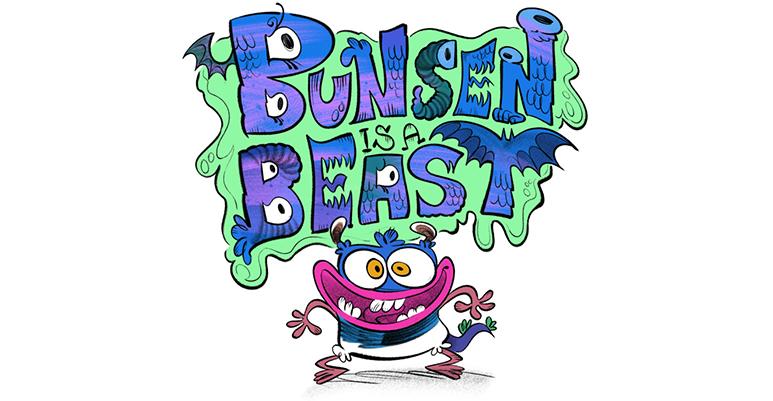 Bunsen is a Beast on Nickelodeon